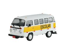 01. VW Kombi van School scale 1/43 Service Vehicles of Brazil