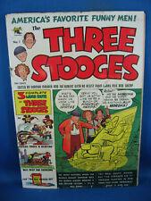 THREE STOOGES 1 VG+ KUBERT ST. JOHN 1953