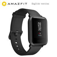 Original XIAOMI Huami Amazfit Bip GPS IP68 HeartRate Smart Watch Wristband Black