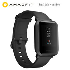 Original XIAOMI Huami Amazfit Bip GPS IP68 HeartRate Smart Watch Wristband Black