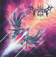 BRYMIR - WINGS OF FIRE (2019) Finnish Melodic Death Metal CD Jewel Case+GIFT