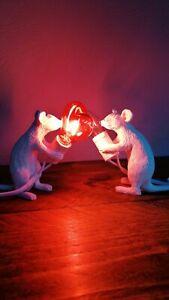 Seletti Type Mice Lamp heart shape bulb
