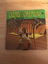 GIZMO AND THE GREMLINS MOGAI GREMLIN READ ALONG BOOK & RECORD SET STORY 2 ONLY