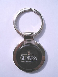 Guinness Beer Key Chain, Guinness Beer Logo Keychain, Guinness Beer Key Chain