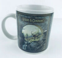 "JOHN DEERE Coffee Mug Cup By Gibson 12oz Licensed ""Deere And Company 1899"""