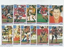 1992 Regina NSW Rugby League ILLAWARRA STEELERS Team Set (11 Cards) ++++