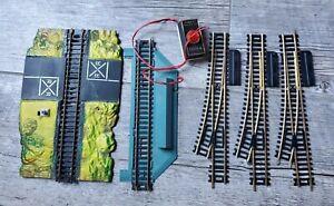 Lot Of TYCO HO Model Train Y Track & Crossing & Prestomatic