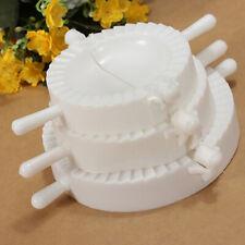 3Pcs 3 Sizes Pierogi Ravioli Empanada Maker Dumpling Press Mould Kitchen Gadget