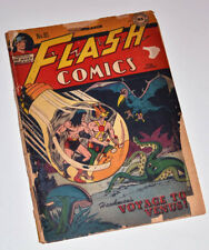 Rare FLASH #81 March 1947 DC COMIC Book, not CGC, HAWKMAN, STARFIRE, NIGHTWING