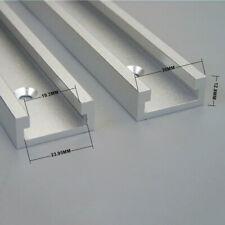 Aluminium 600mm T-Slot T-Track Miter Track Woodworking Tools Alloy High Quality