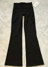 "Lululemon Groove Flare HR Pant 32.5"" Black Classic High Rise Full Luon Pants 8"