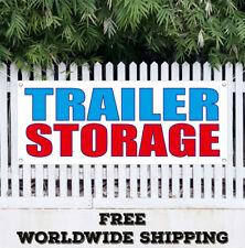 Banner Vinyl Trailer Storage Advertising Flag Sign Long Short Term Secure Indoor