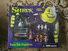 Shrek Mini Figures Playsets Boxes Unopened 2001 by Mcfarlane Toys
