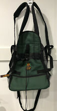Outward Hound Pet Gear Green Carrying Pouch Backpack