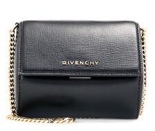 2f0d9602f6 NEW Genuine Givenchy Pandora Box Micro Chain Bag Black 100% calf leather