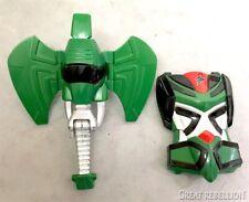 Power Rangers Jungle Fury Beast Master Megazord green elephant parts head chest