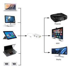 3in1 Mini DisplayPort MINI DP a HDMI VGA DVI Cavo Convertitore cavo Adattatore