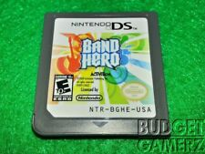 Band Hero (Nintendo DS, 2009)  TESTED WORKING DS DSi XL
