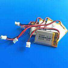 5 pcs 200mAh 3.7V Li Po Battery 402030 for MP3 GPS Headphone JST 2.0mm Connector