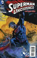 Superman Unchained #1 #2 (2013) DC Comics