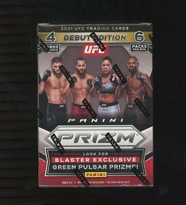2021 Panini Prizm UFC Blaster Box Trading Cards Brand New Factory Sealed