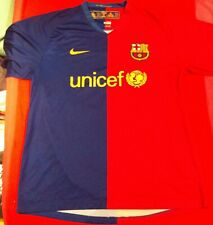►RARE ! MAILLOT NIKE BARCELONE INIESTA 8 XL SAISON 2008 2009 VINTAGE COLLECTION◄