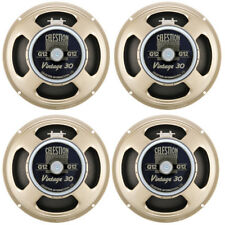 "4 x NEW CELESTION VINTAGE 30 GUITAR SPEAKERS 12"" 16ohm"