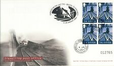 LAST TRAVELLING POST OFFICE  RAILWAY TRAINS FIRST DAY COVER LIMITED EDITION COA