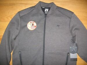 WASHINGTON REDSKINS 50TH 1837-1986 NEW WITH TAG SEWN PATCH NFL RUSSELL JACKET