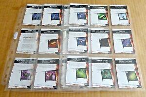 MULTI-LIST OF WIZKIDS HORROR CLIX SLEEVES OF 9 PLOT TWIST CARDS FREE P/P