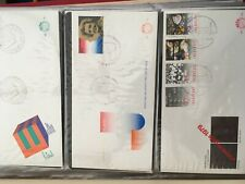 Netherlands Importa album with FDC covers between E172 - 296 very tidy
