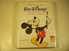 The Art of Walt Disney Christopher Finch Illustrated Huge Japan Gc 45B