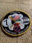 1990s/Desert Storm? US MILITARY PATCH-OPERATION DESERT SHIELD/STORM-ORIGINAL!