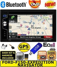F150 NAVIGATOR EXPEDITION ECONOLINE VAN Car Stereo Radio NAVIGATION Bluetooth BT