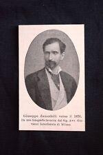 Il patriota e politico italiano Giuseppe Zanardelli verso il 1870