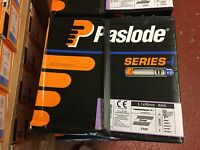 Paslode Series-i 2500x 3.1x90mm Ring Galv-Plus Nails 2/Fuel Cells Code 142038
