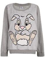Disney Thumper Grey Lounger Jumper Pyjama Top Size 12