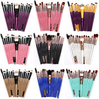 15pcs Eye Shadow Cosmetic Makeup Brushes Set Foundation Eyebrow Brush Kit Tool