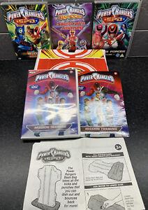 Power Rangers S.P.D. - Mission Training Bash Bag with DVD bundle Ninjastorm Lot