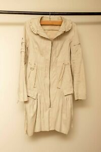 SASS cream/beige Coat - size 8