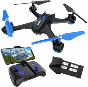 REMOKING RC Drone with 720P FPV Wi-Fi HD Camera Live Video Racing Quadcopter Hea