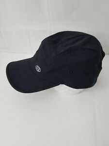 LULULEMON ATHLETICA Running Cap Hat Adjustable One Size Dark Blue