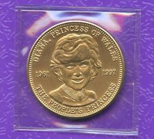 Lady Diana (1961 - 1997) Princess Of Wales Sealed Coin Token 38 mm Diameter