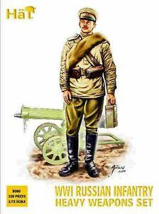WWI Russian Infantry Heavy Weapons Set 1:72 1/72 HAT 8080