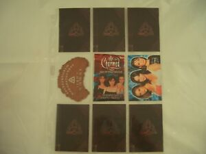 Charmed Season 1 Spirit Board S1 & Book Of Shadows B1-6 & CL 1 Trading Cards