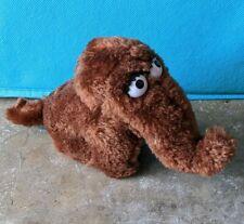 """Vintage Sesame Street 4"""" Mini Plush Snuffy Snuffleupagus Stuffed Animal 14091"""
