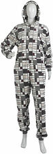 Fluffy Check Jumpsuit with Hood by Waites Lingerie Size 14-16 Pyjamas Sleepsuit