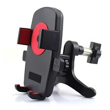 Support Voiture Grille Aération Téléphone 360° Universel Smartphone GPS MP3 4 5