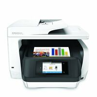 HP OfficeJet Pro 8720 All-in-One Color Wireless Inkjet Printer White M9L75A#B1H