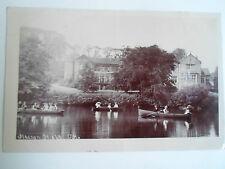 Vintage Real Photo Postcard Halton Hall C.H. (Clock House?) Franked+Stamped 1904